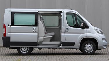 MultiCab-Doppelkabine für alle gängigen Transporter-Modelle
