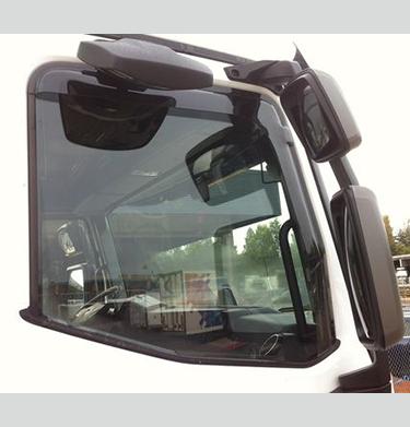 f/ür die Fahrer und Beifahrerseite-CLI0044037 passend f/ür Mercedes M-KLASSE TYP W164 1 Set GLW Hintere Windabweiser 2005-2011 5-Door