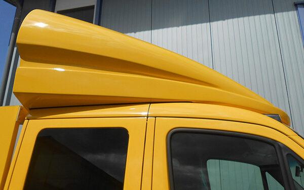 Dachspoiler gelb